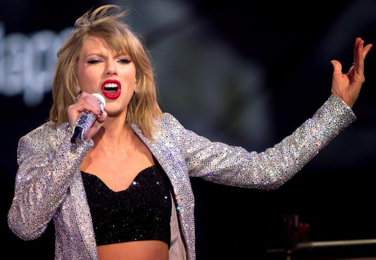 FILE PHOTO: Taylor Swift performs in Times Square on New Year's Eve in New York